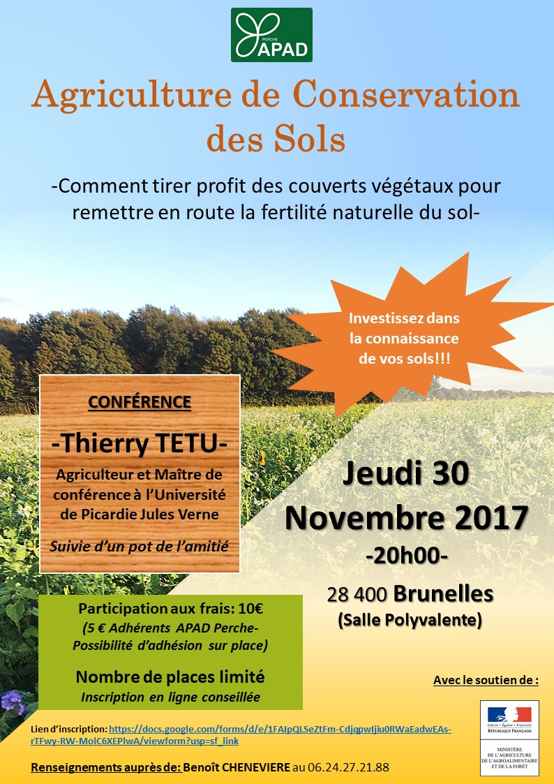 Conference Thierry TETU 30112017 Affiche